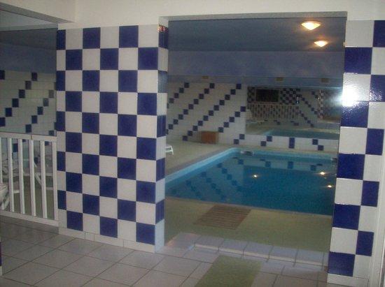 Hotel Le Baudiere : piscine interieur