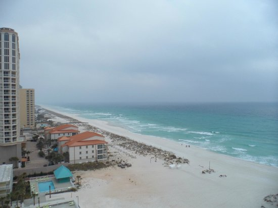 Holiday Inn Resort Pensacola Beach: Amazing view from our room on the 10th floor