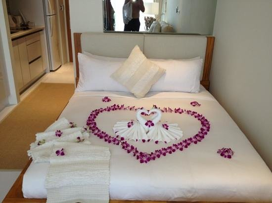 Lanna Samui : honeymoon bed