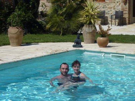 Domaine De La Tannerie : 12 avril 2013 Les clients se baignent