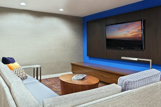 Courtyard Tampa North/I-75 Fletcher: Lobby Home Theater