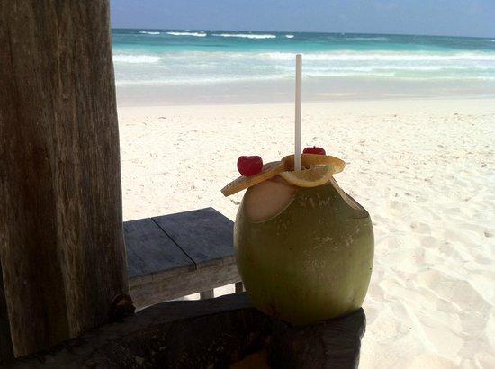 La Cocina de Corina : le jus de coco