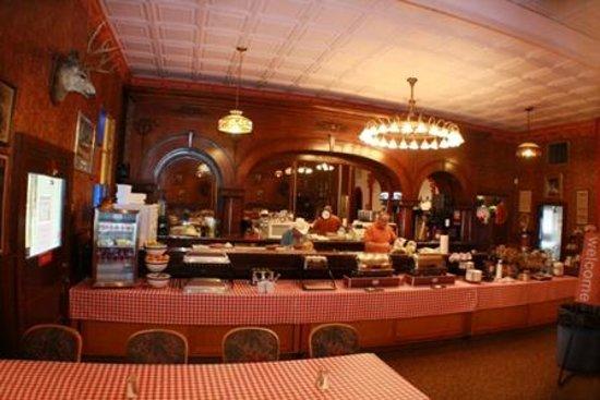 Comfort Inn Buffalo Bill Village: Summer Breakfast Area