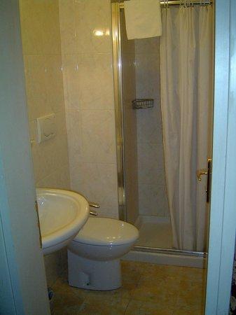 Hotel La Fenice Et Des Artistes: The bathroom/toilet. Rain-forest shower. Lots of hot water...