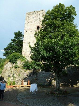 Burg Windeck Hotel und Restaurant : Castle Ruins
