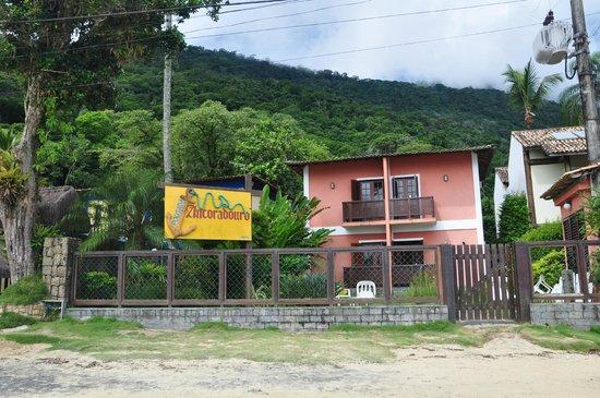 Pousada Ancoradouro Inn : FRENTE DE LA POSADA
