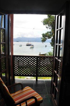 Pousada Ancoradouro Inn: VISTA DESDE LA HABITACION