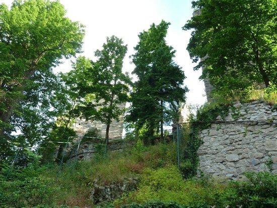 Burg Windeck Hotel und Restaurant: Castle ruins