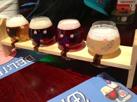Hotel 't Keizershof: beer sampler
