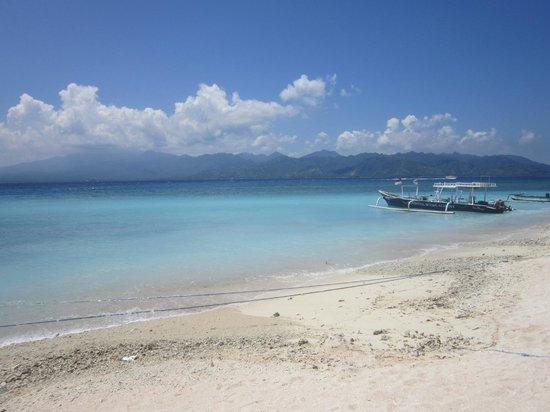 Hotel Vila Ombak: beach