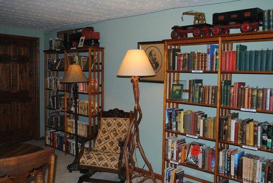 Long Mountain Lodge: Library