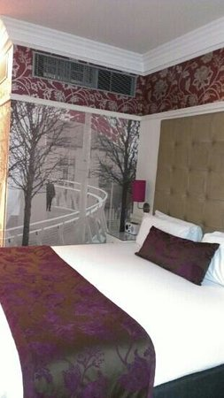 Hotel Indigo Glasgow: brilliant bedroom