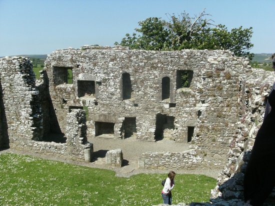Beautiful Meath Tours: The Inside of SLANE Abbey at the Hill of Slane in CO.MEATH