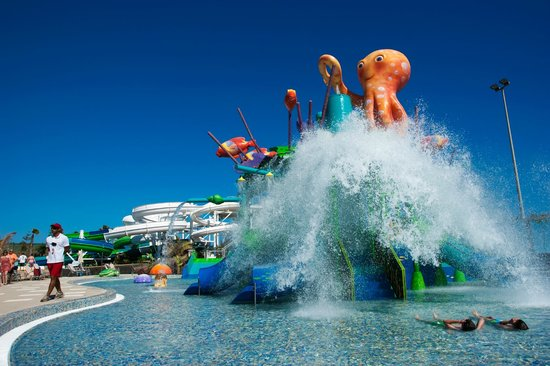 Playa Blanca, Espagne : Aqualava Waterpark