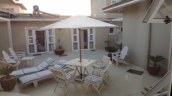 Swakopmund Guesthouse: gemeinsamer Innenraum für ca 5 Zimmer