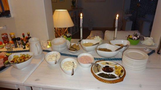 Swakopmund Guesthouse: Frühstücksbuffet (sehr gut)