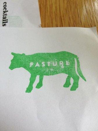 Pasture : Menu
