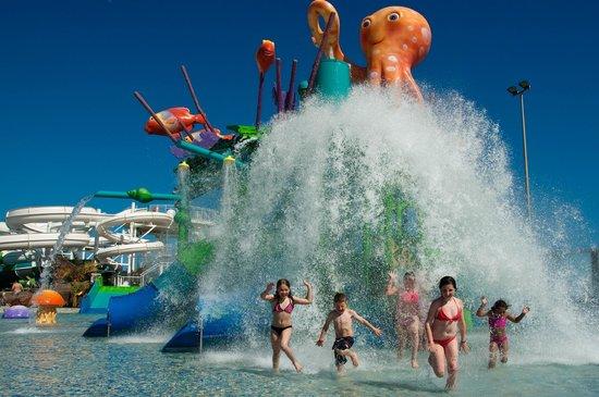 Aqualava Waterpark Relaxia: Caida de agua Diversion Infantil  en Corsario Bay