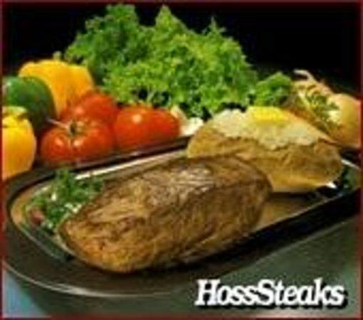 Hoss's Steak & Sea House : Fresh cut steak