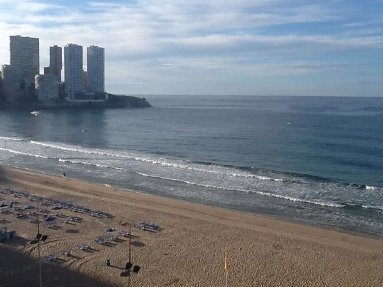 Apartments Torre Yago: View from window