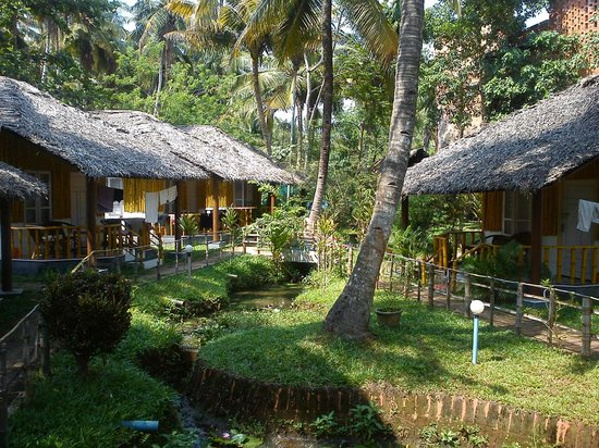 Eden Garden: Bamboo Cottages