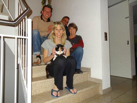 Hotel Villa Rosa: Villa Rosas - owners Dieter & Rupert!