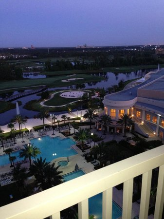 Waldorf Astoria Orlando: My view from Suite on West Side