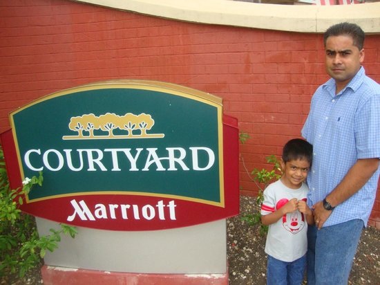 Courtyard by Marriott Bridgetown, Barbados: Outside the hotel