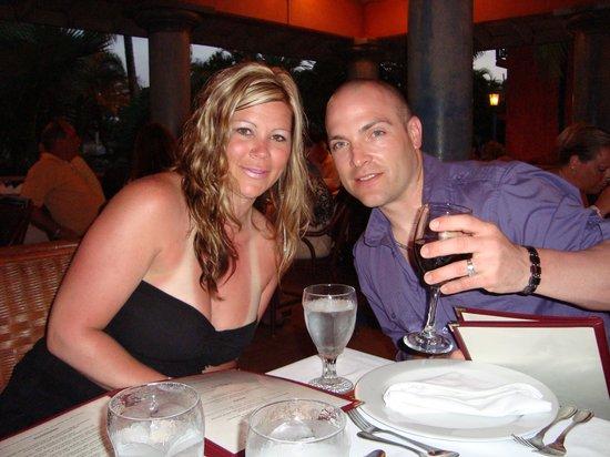 VH Gran Ventana Beach Resort: Dinner at the Italian Restaurant