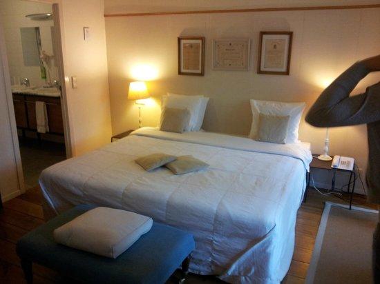 Hotel 't Sandt: hotelkamer