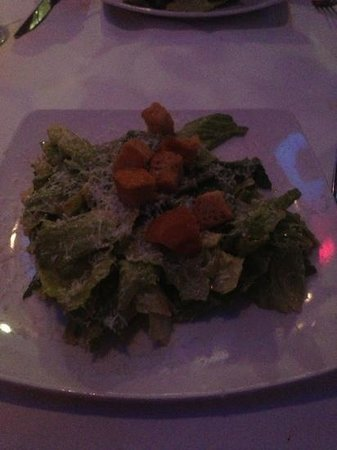 Cypress: Caesar salad prepared tableside--best salad ever!!