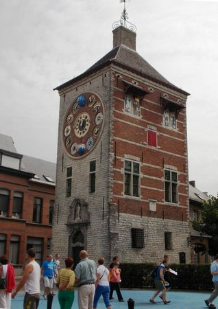 Flandres, Belgique : Башня Зиммера в Лире, Бельгия