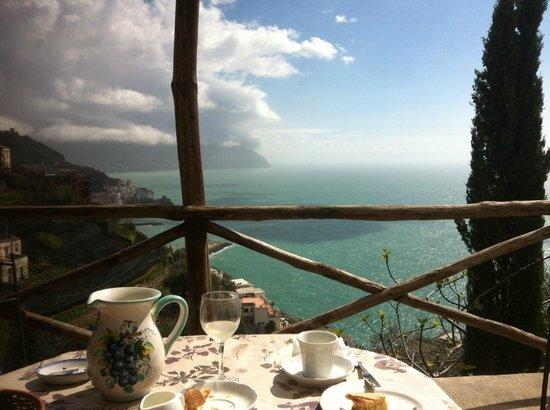 Villa Rina Country House Amalfi: vue