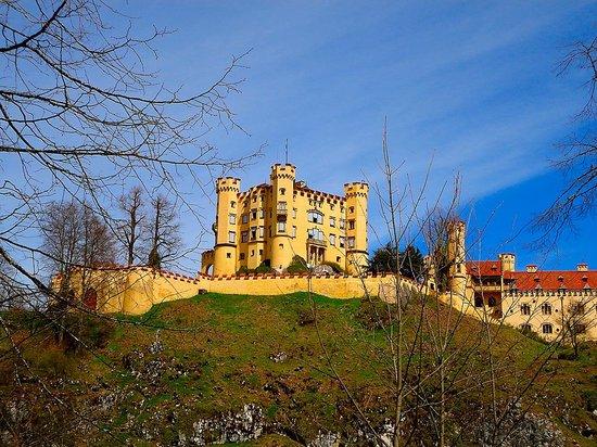 Altstadt von Fuessen: Castillo Hohenschwangau