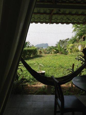 Villa Manuel Antonio: hammocks are all over the villa!