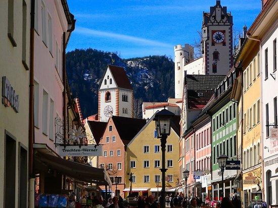 Altstadt von Fuessen: Parte de la ciudad de Füssen