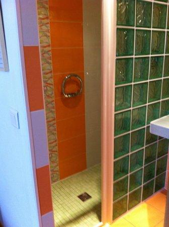 Hotel Bristol: aperçu de la douche à l'italienne