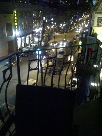 Le Relais Lyonnais : View of Quartier Latin from the terrace