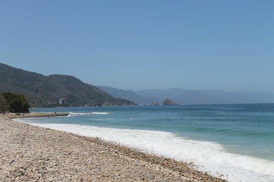 Hotel Playa Fiesta: View from hotel bar