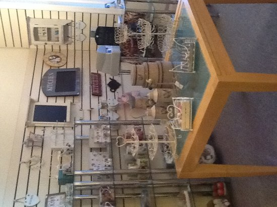 Willow Gifts and Tea Room: Our first floor shop