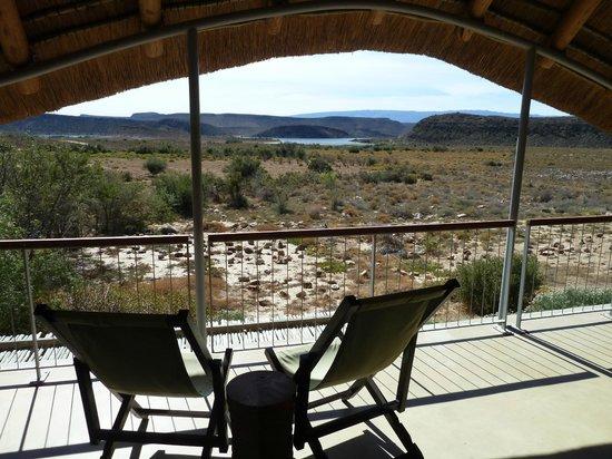 Sanbona Wildlife Reserve: Blick aus unserem Zimmer