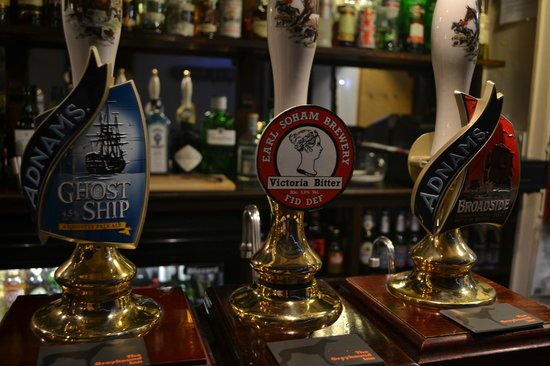 The Greyhound Inn: Real Ales