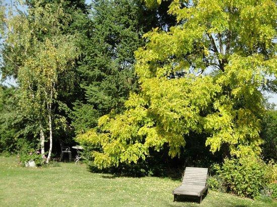 L'Aubepine: Jardin
