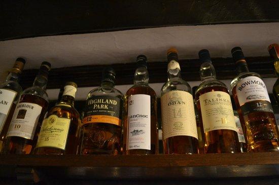The Greyhound Inn: Malt Whisky Collection