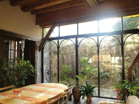 L'Aubepine: jardin d'hiver