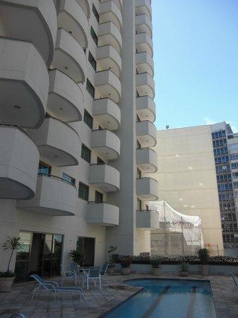 Mercure Botafogo Mourisco: Hotel hinten