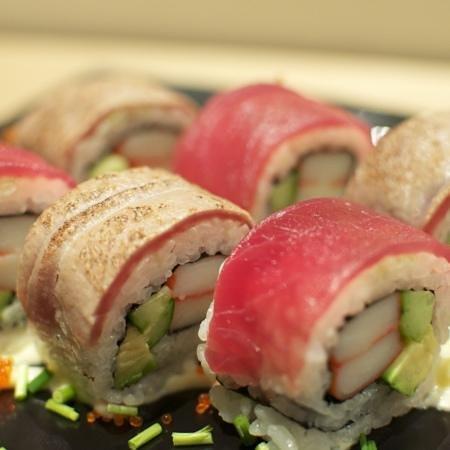Xex West: XEX Original Roll Sushi.