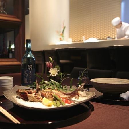 Xex West: Japanese Restaurant Table