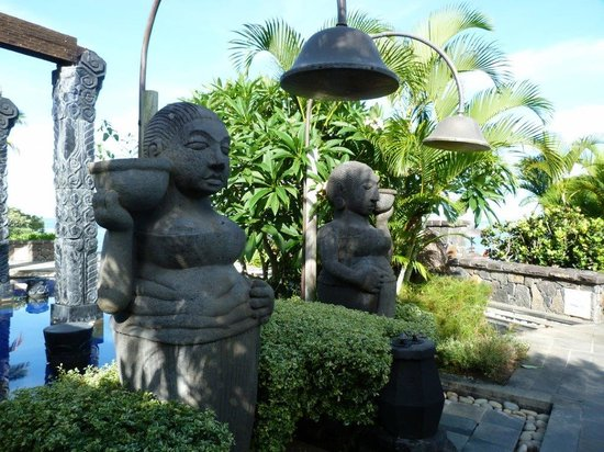 The Oberoi, Mauritius: Shower