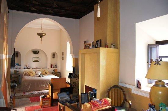 Riad les Rêves d'Amélie : la suite Rabat double ou chambre à 4